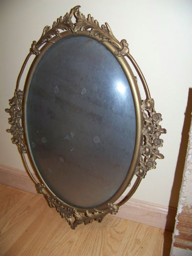bubble glass victorian frame
