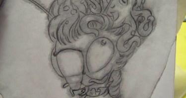 victorian mantis sketch